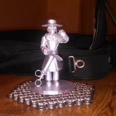 Picture of print of Puppet Master's Blade Figure