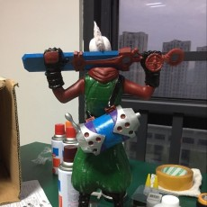 Picture of print of Ekko from League Of Legends