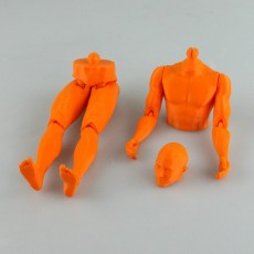 Picture of print of Male Articulated Figure - Print in Place & Support Free