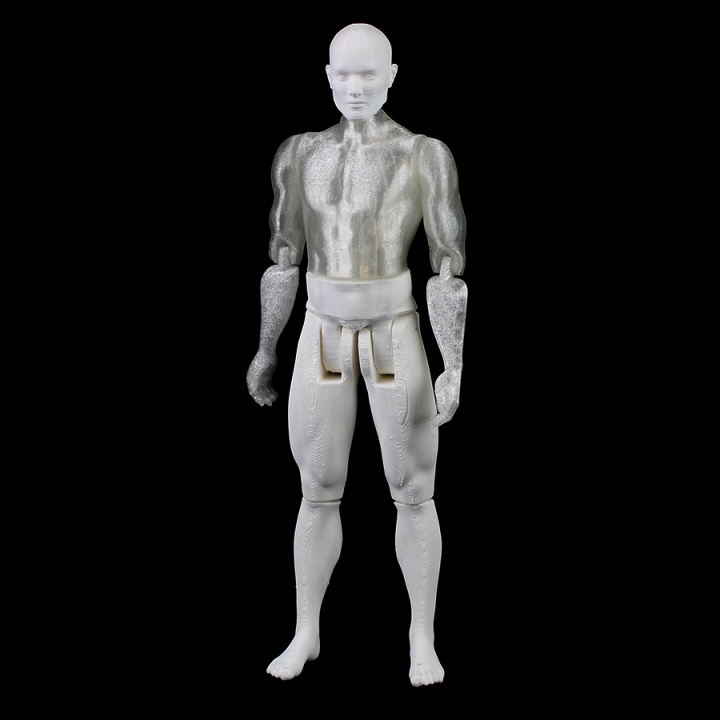 Male Articulated Figure - Print in Place & Support Free