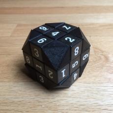 Truncated Rubik's Cube Corner