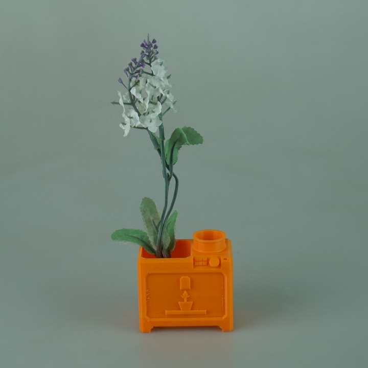 3d Printable Maker Planter By Joshua Middleton