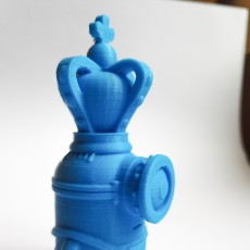 Picture of print of Minion the King model