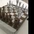 Mini-Mate travel chess set print image
