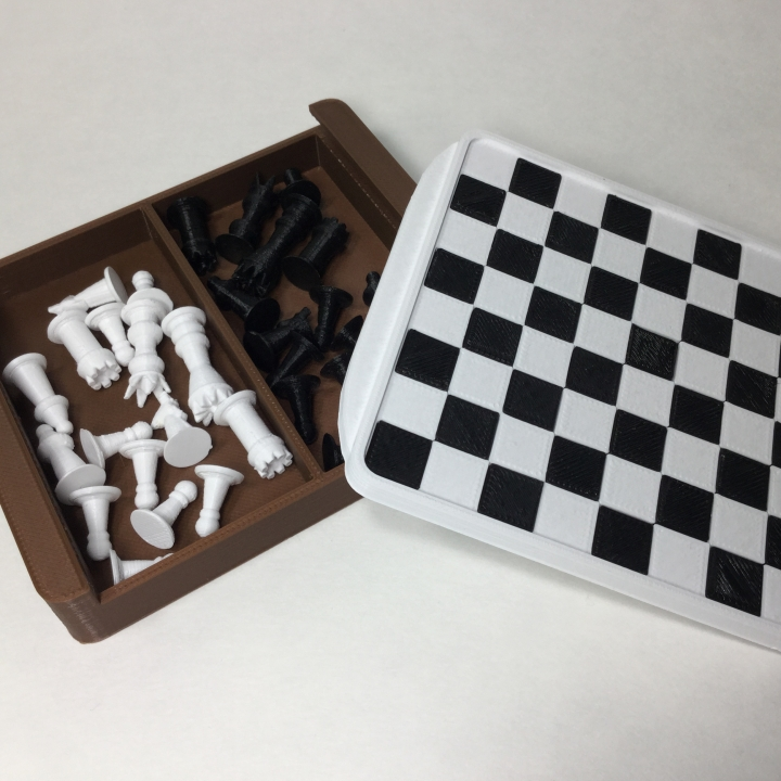 Mini-Mate travel chess set