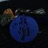 Pendant necklace or keychain Suzuki GSXR biker image