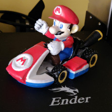 Picture of print of Mario Kart