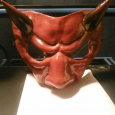 Picture of print of DEVIL MASK Questa stampa è stata caricata da Anthony Burdick