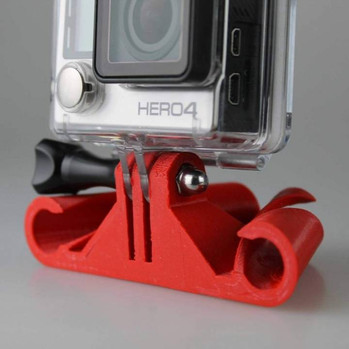Cable Wake boarding GoPro Mount