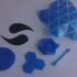 Ingress Logo Keychain print image