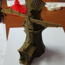 Picture of print of medieval fantasy windmill toy