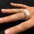 3 stone ring image