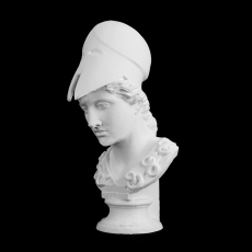 Bust of Athena at The Altes Museum, Berlin