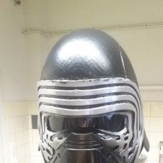 Picture of print of =JJ= Industries: Kylo Ren Helmet