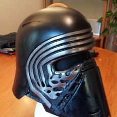 Picture of print of =JJ= Industries: Kylo Ren Helmet
