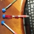 Geometry for Pencils: Cuboctahedron Rhombic Dodecahedron Compound Pencil Topper. image