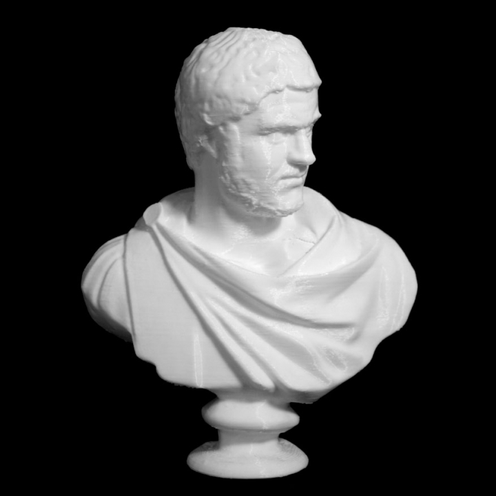 Emperor Caracalla at The Louvre, Paris