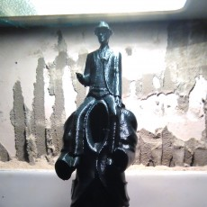 Picture of print of Franz Kafka Monument in Prague