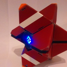 Picture of print of LARGE Destiny Ghost Fully Detailed Model, LED Illuminated, no supports!
