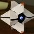 LARGE Destiny Ghost Fully Detailed Model, LED Illuminated, no supports! image