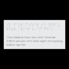230x230 braille front