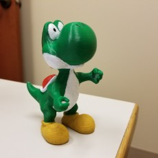 Picture of print of Yoshi re-upload