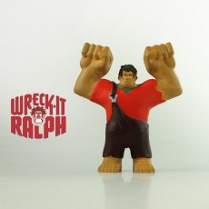 Wreck-It Ralph Print & Paint Toy - Support Free