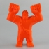Wreck-It Ralph Print & Paint Toy - Support Free print image