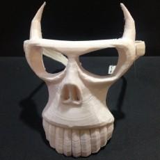 Halloween animal skull mask