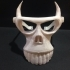 Halloween animal skull mask image