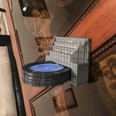 Picture of print of Stargate SG-1 Coaster