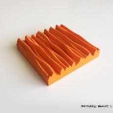 Wall Cladding  Waves  #2