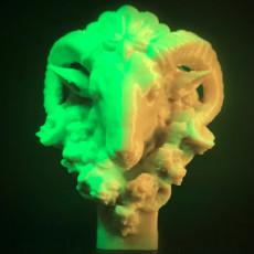 Picture of print of Head of a Ram at The Réunion des Musées Nationaux, Paris