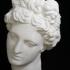 Head of Aphrodite at The Réunion des Musées Nationaux, Paris image