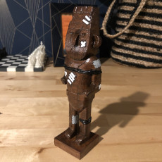 Picture of print of Tintin The Broken Ear: Arumbaya statue
