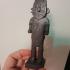 Tintin The Broken Ear: Arumbaya statue print image