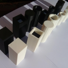 Quarto game pieces
