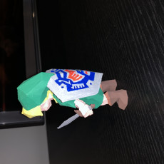 Picture of print of Young Link (Ocarina of Time)