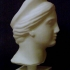 Marble Head of a Goddess at The Metropolitan Museum of Art, New York image