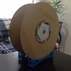 Filament spool holder (adjustable)