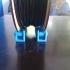 Filament spool holder (adjustable) image