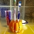 Pumpkin Toothbrush Holder image