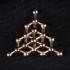 Diamond molecule pendant image