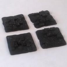 Scattered Stone Work Bricks