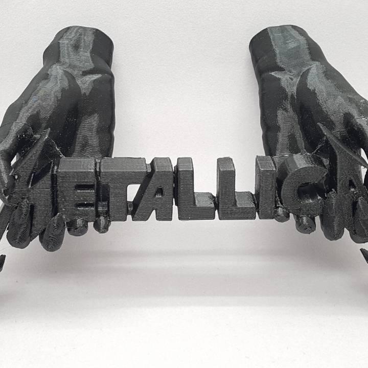Metallica Wallmount