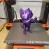 Tiz Cat - Support Free print image