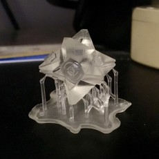 Picture of print of Destiny Ghost Pendant