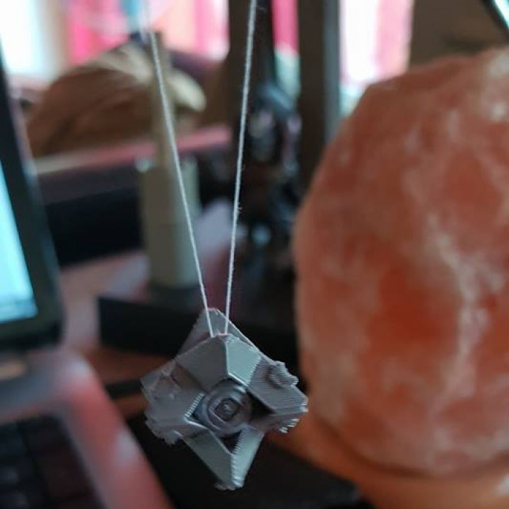 Picture of print of Destiny Ghost Pendant This print has been uploaded by Nathalie