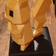 Picture of print of Low-Poly Pikachu