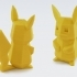 Low-Poly Pikachu image